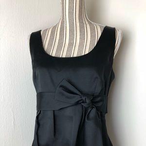 Ann Taylor Black Formal Sleeveless Top Size 12